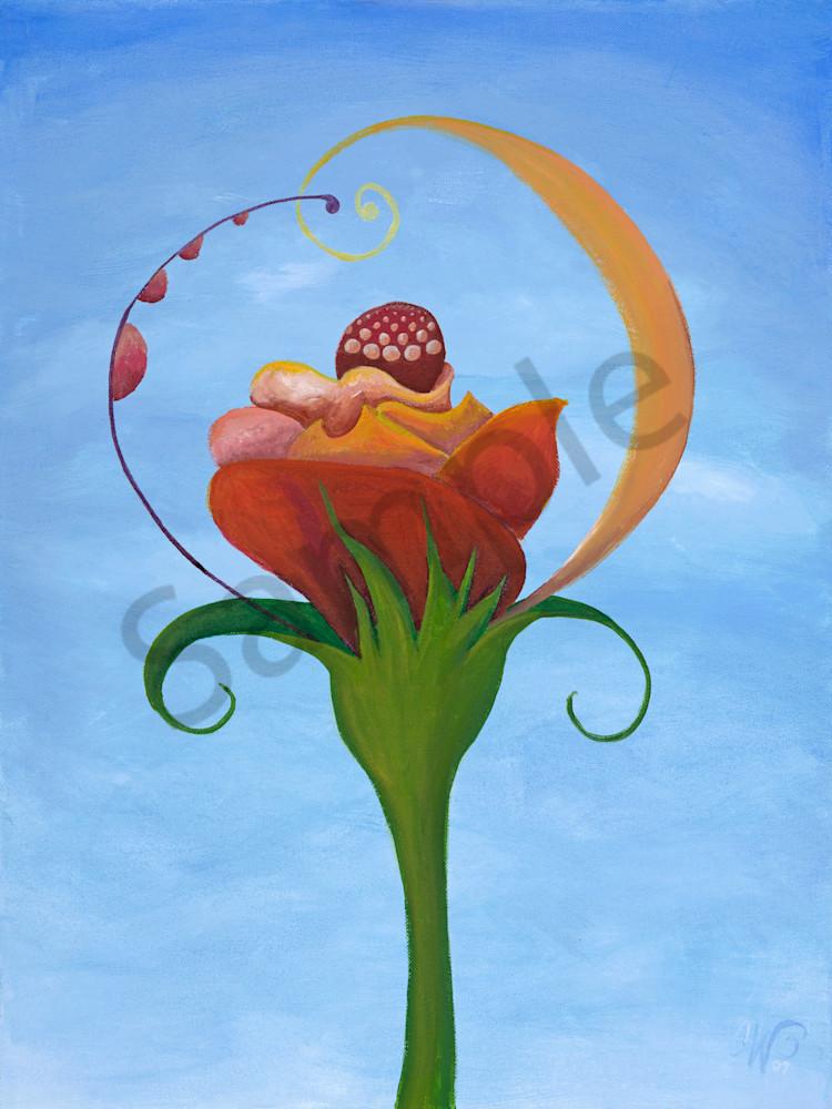 Sundae Flower Art | FireFlower Art