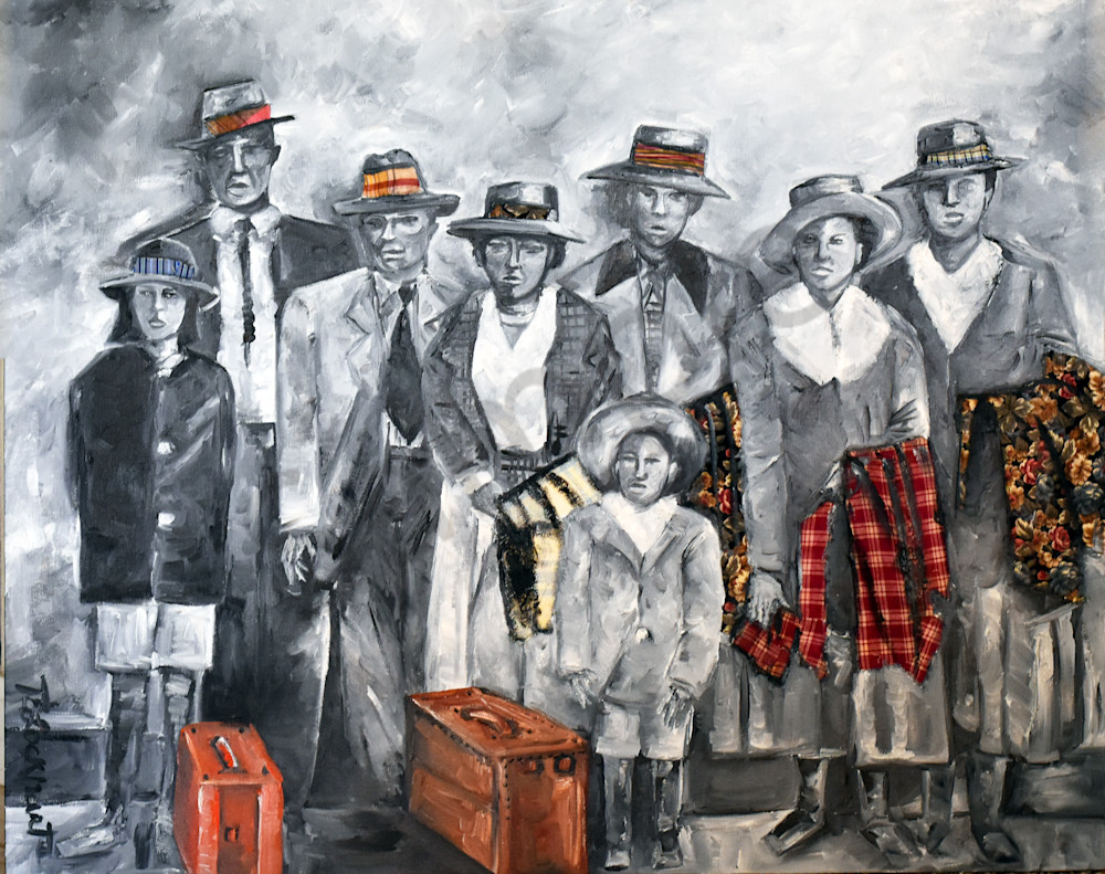 Bout To Board That Train For Freedom And Change Art   thomaselockhart