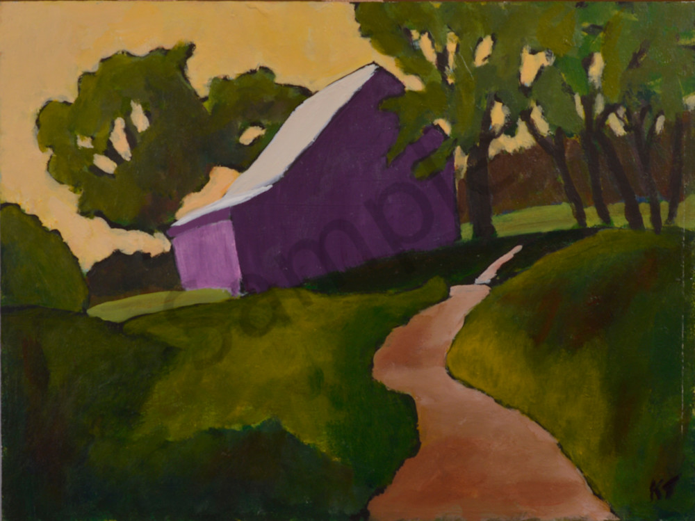 Magnificent Hill Barn Art | Keith Thirgood