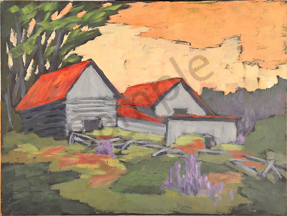 Ottawa Valley Barns Art | Keith Thirgood