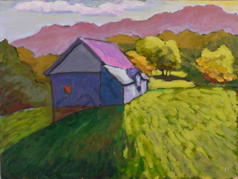 Ontario Barn, Halliburton Art   Keith Thirgood