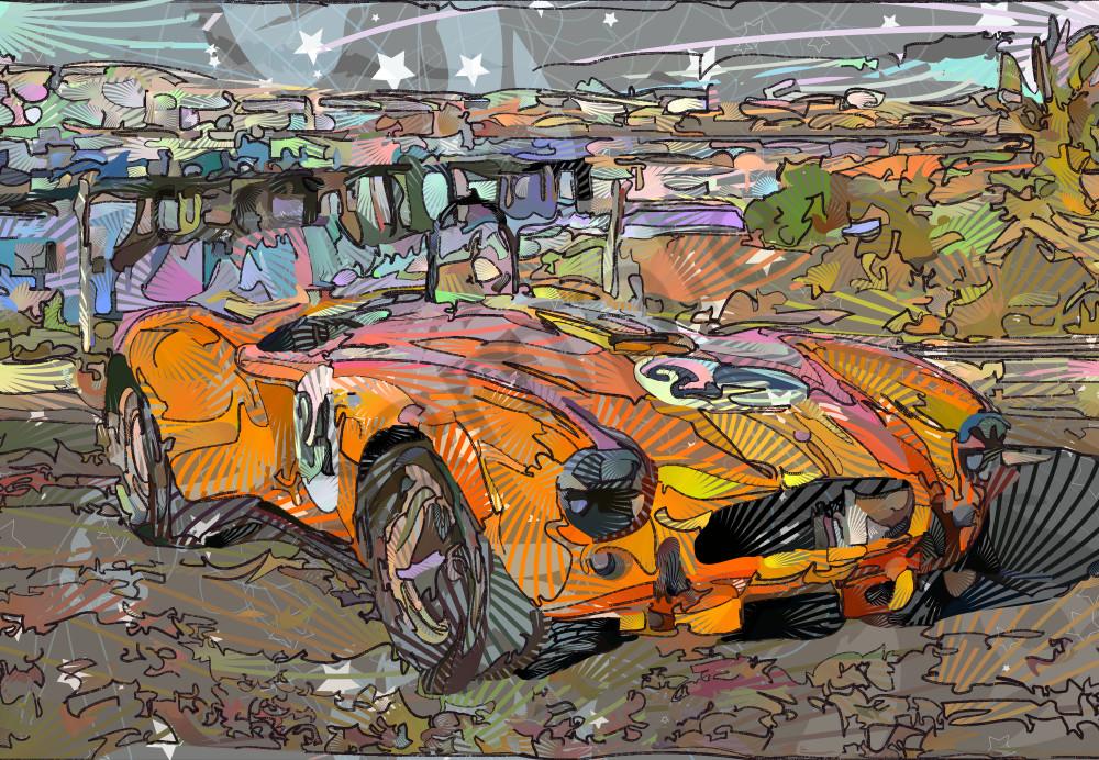Shelby, Cobra, Shelby cobra art, sports car art,  Posters and Prints at VectorArtLabs.com