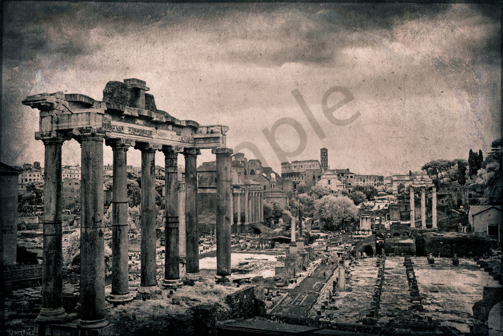 The Roman Forum 6206 Photography Art | Bridget Karam Photography