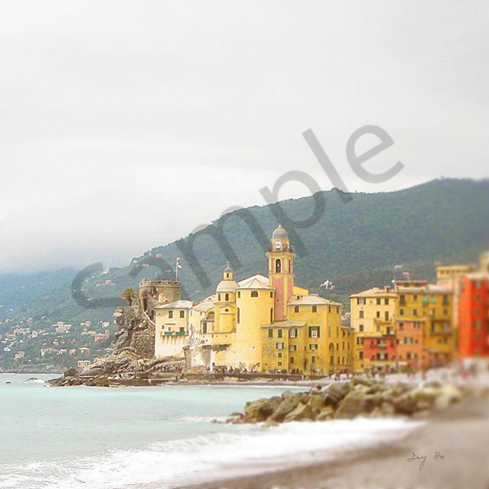 Church of Santa Maria Assunta photograph in Camogli by Ivy Ho for sale as Fine Art.