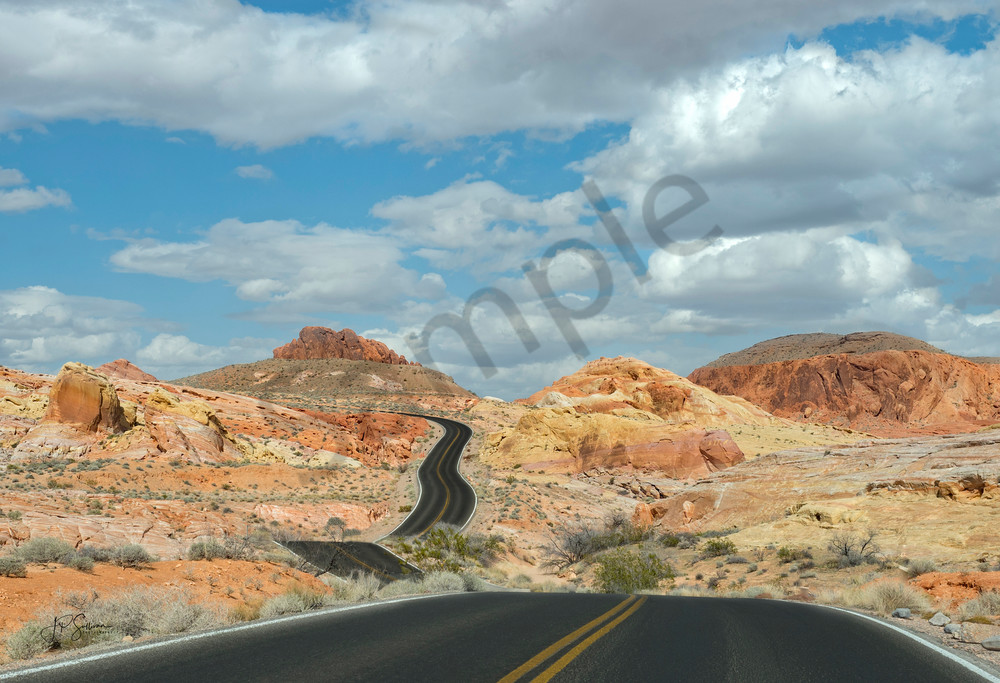 Passage of Dreams - Valley of Fire - Fine Art Photography - JP Sullivan Photography