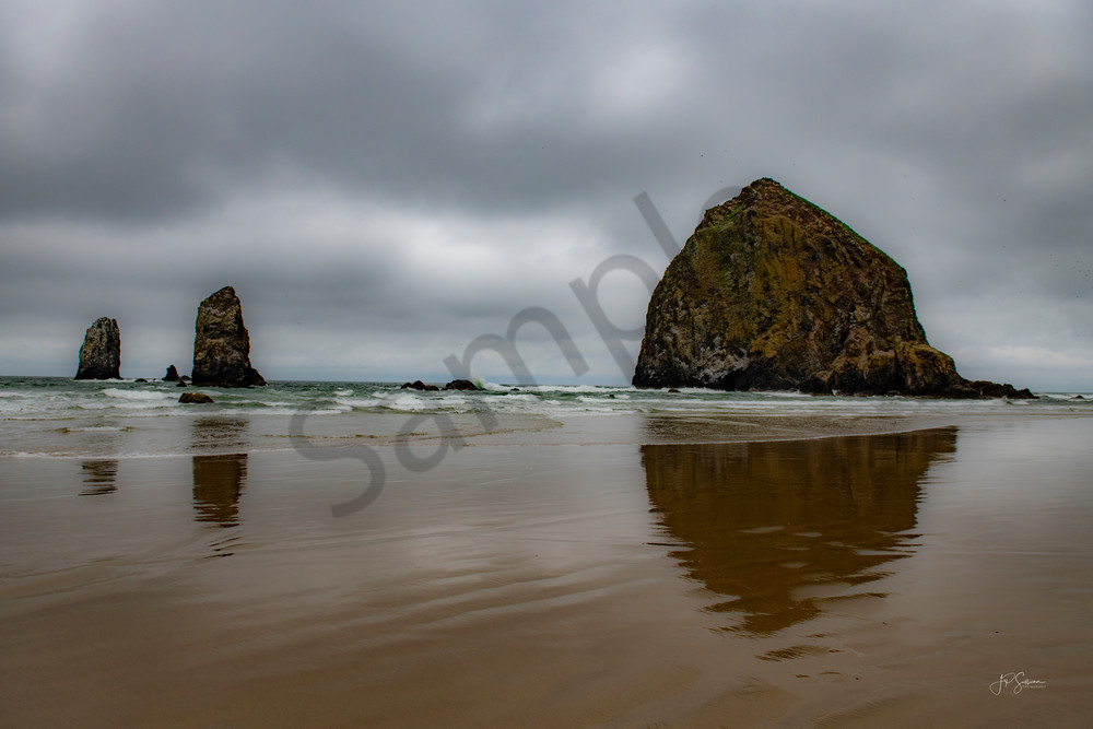 Haystack Rock - Art - Photography - Cannon Beach