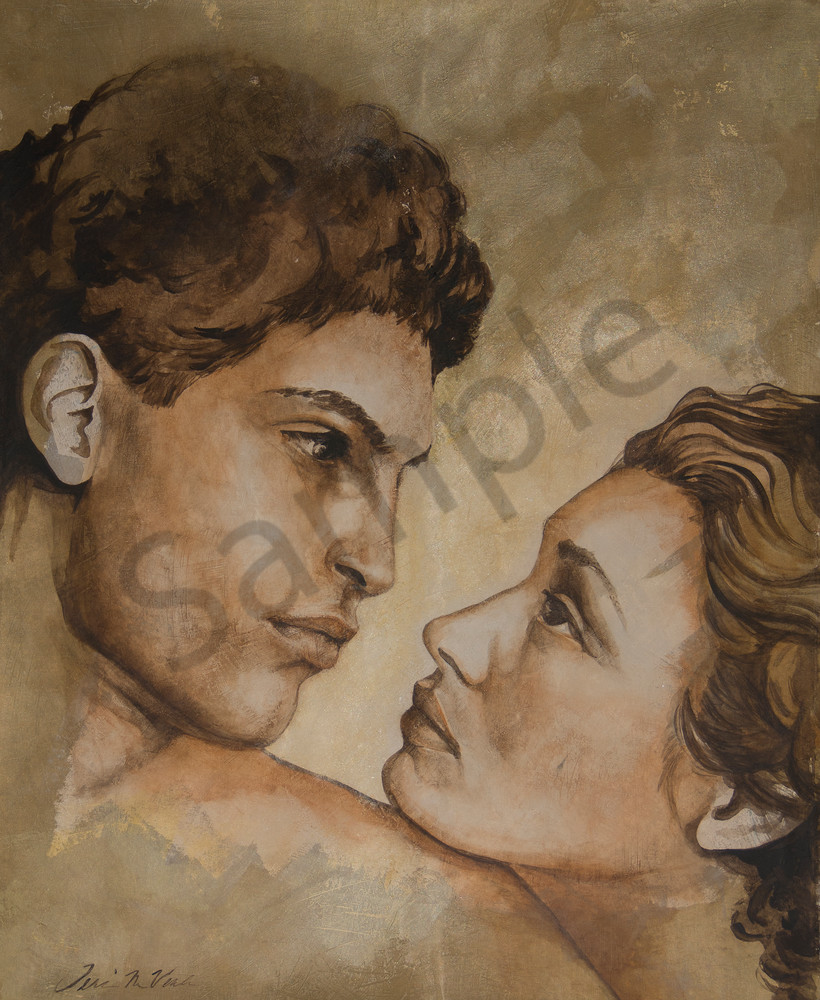 Designs by Teri| Teri Vereb Fine Art Paintings| lovers| passion| couple