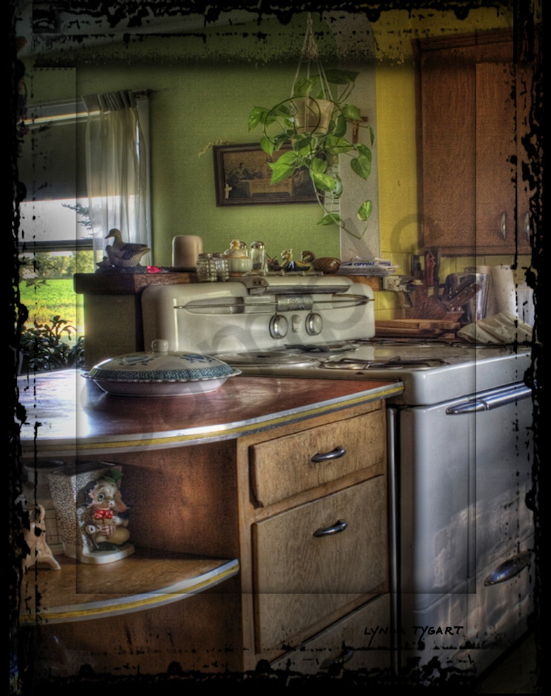 Asf Tygart Grandmas Kitchen Stove Photography Art | LYNDA TYGART  ART PHOTOGRAPHS