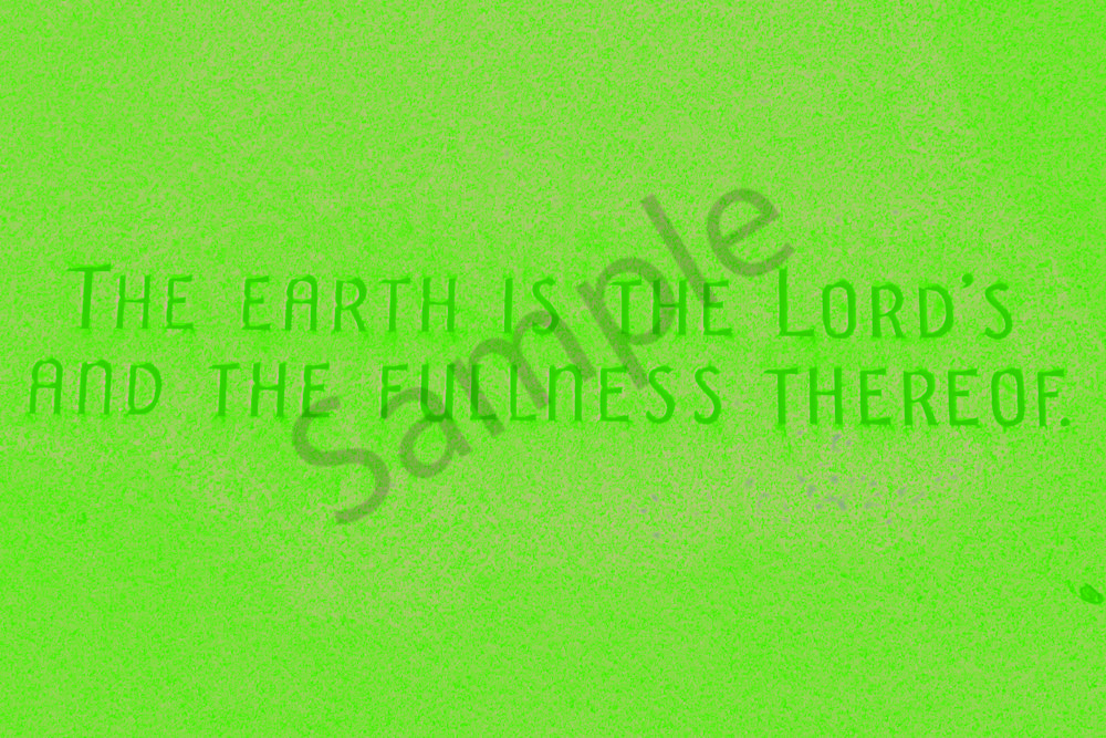 The Earth Is The Lords Gravestone Art | toddbreitling