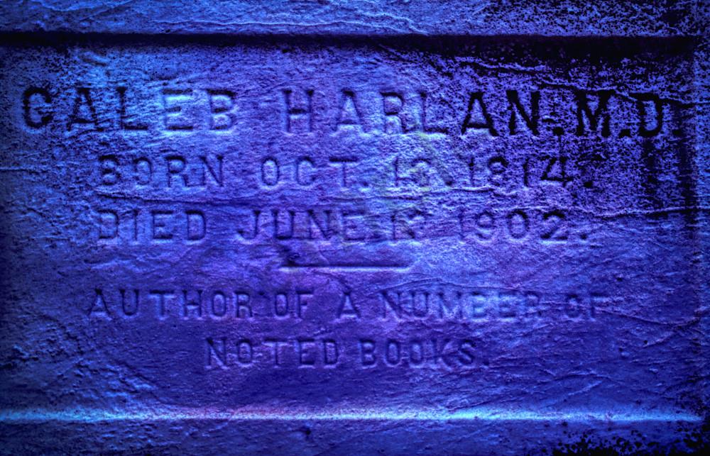 Caleb Harlan Gravestone