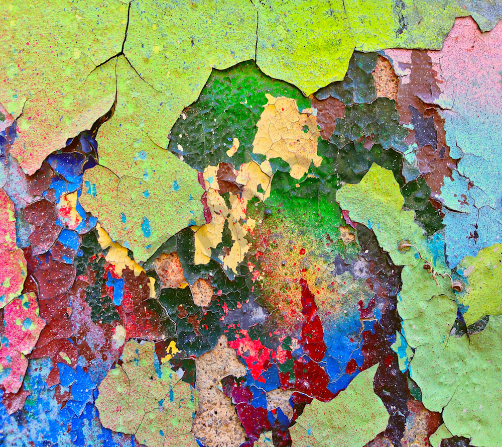 Peeling Paint Colors|Fine Art Photography by Todd Breitling|Abstract Photography|Todd Breitling Art