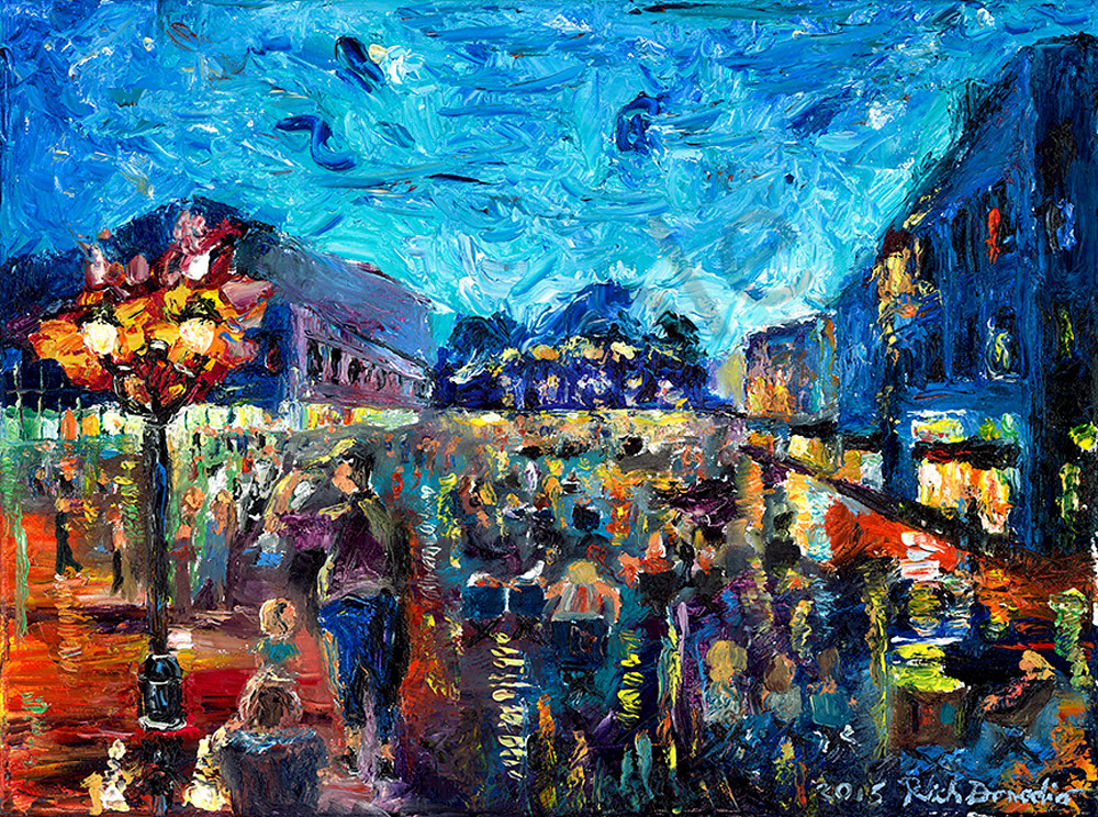 Friday Night Block Party Art | Digital Arts Studio / Fine Art Marketplace