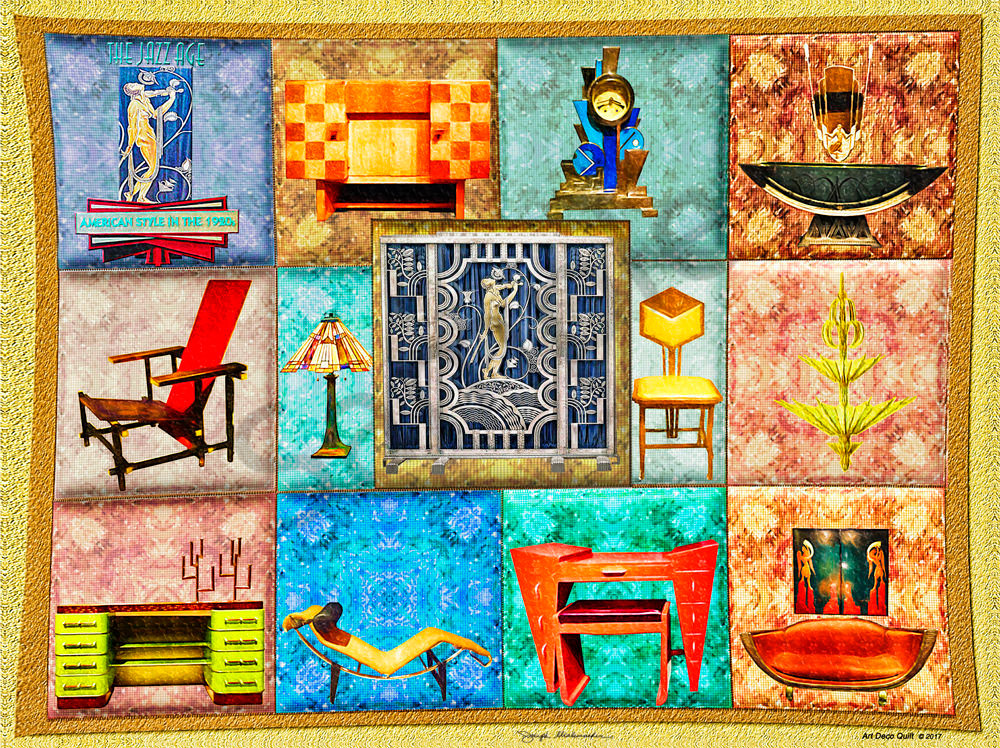 Art Deco Quilt - The Gallery Wrap Store