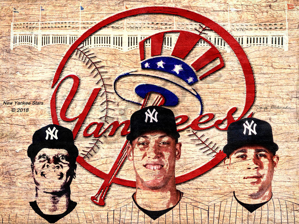 Yankee Baseball - The Gallery Wrap Store