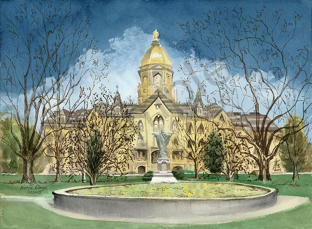 Notre Dame Art | Digital Arts Studio / Fine Art Marketplace