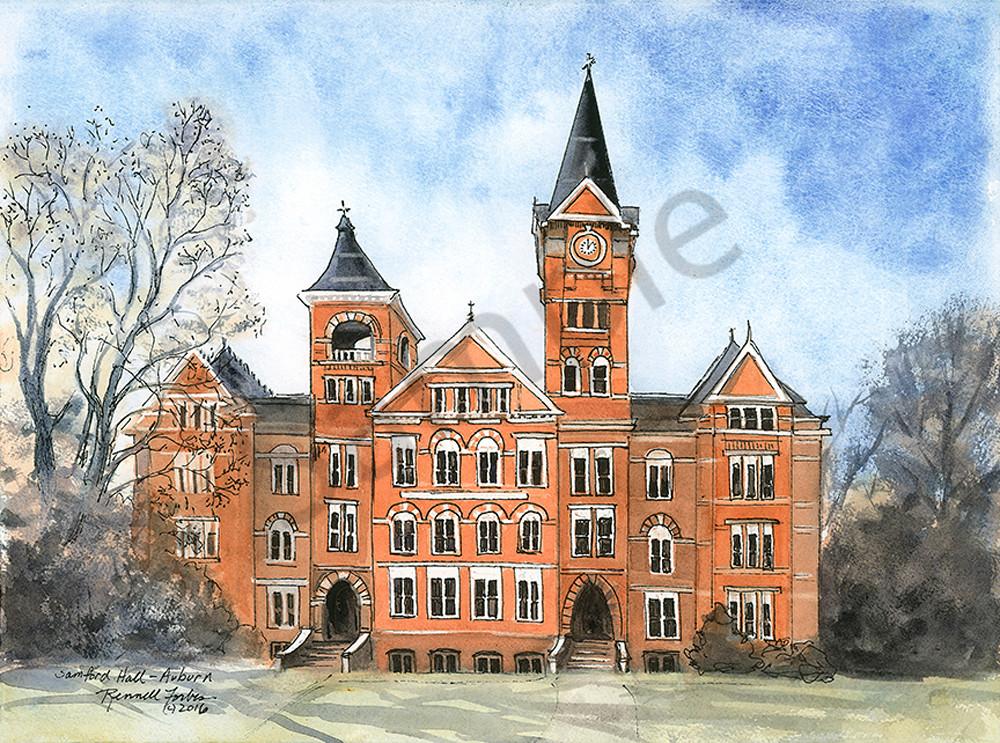 Samford Hall, Auburn Univ.