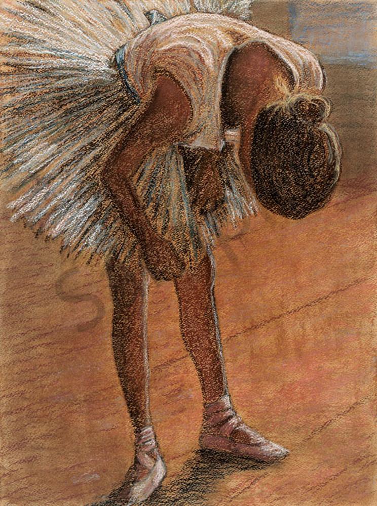 Study #2   After Degas Art | Digital Arts Studio / Fine Art Marketplace