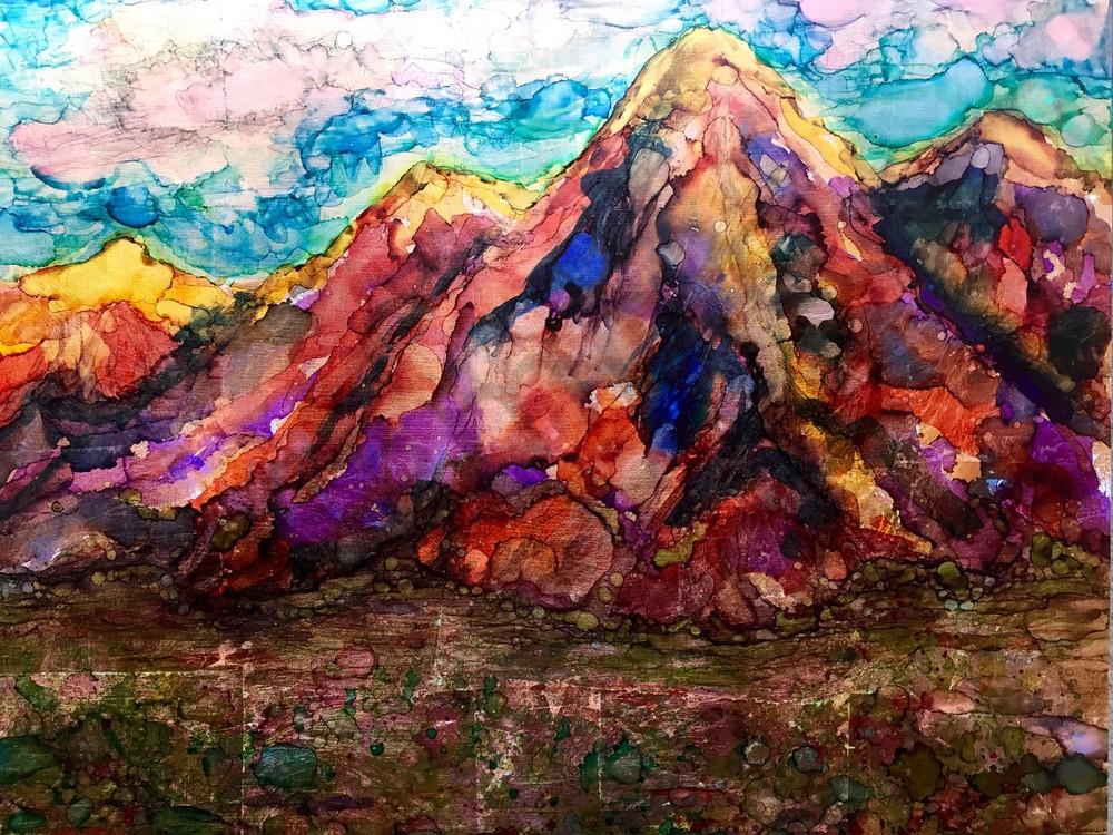 Desert Mountain at Dawn