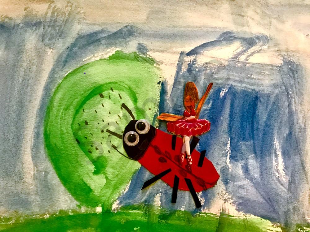 Odeta Xheka Visuals | Ballerina artwork for nursery decor