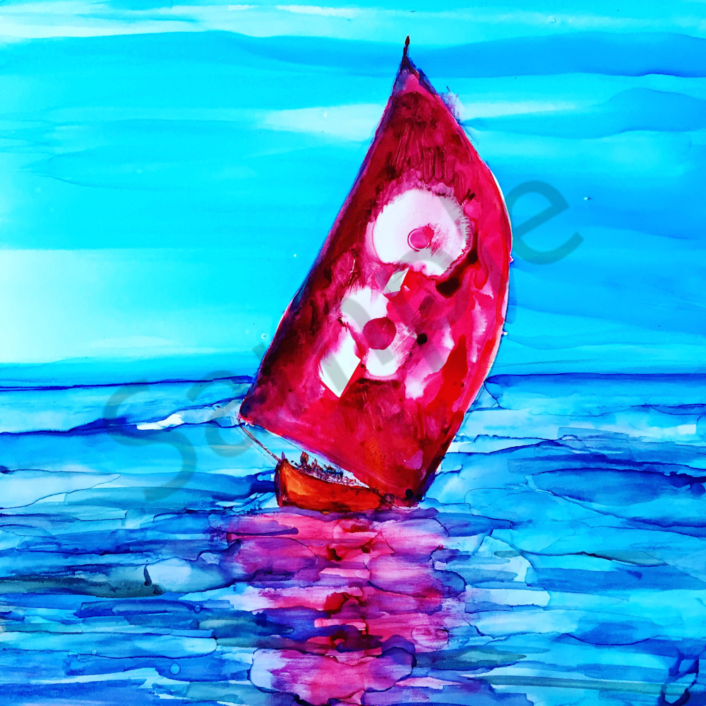 Red Sail Afternoon
