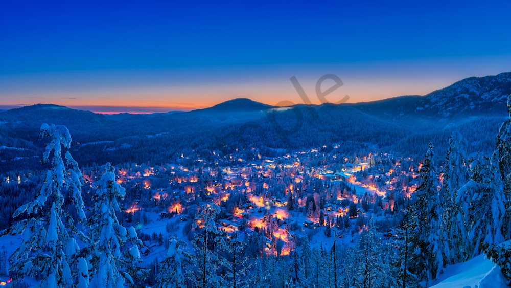 Winter Evening From Kc Photography Art | Kokanee Camera and Nelson Fine Art Printing