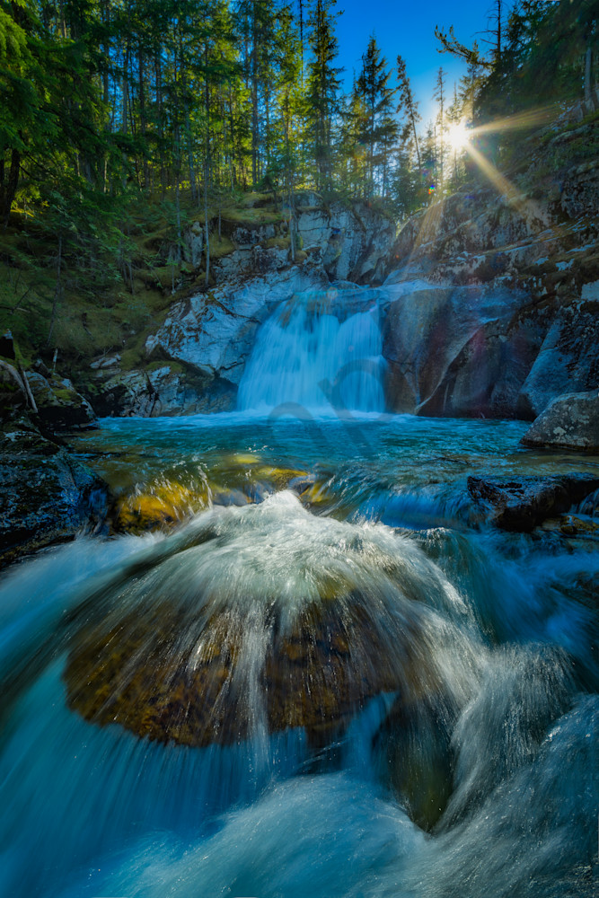Nemo Falls Photography Art | Kokanee Camera and Nelson Fine Art Printing