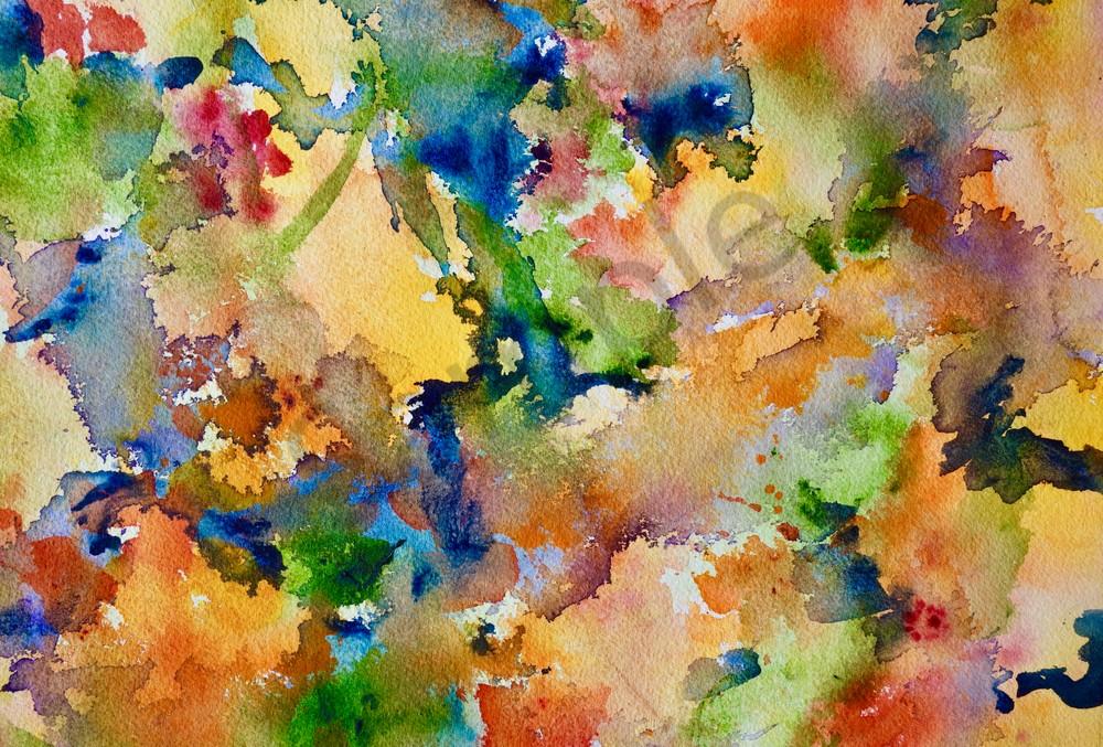 Nasturtium Abstract