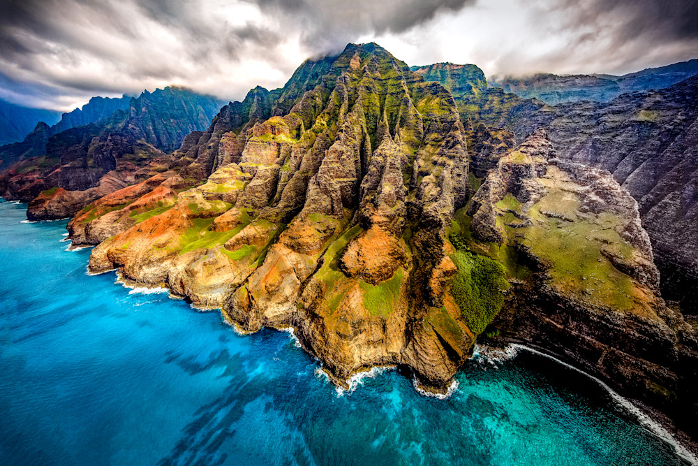 Hawaii Photography Na Pali Coast By Shane Myers