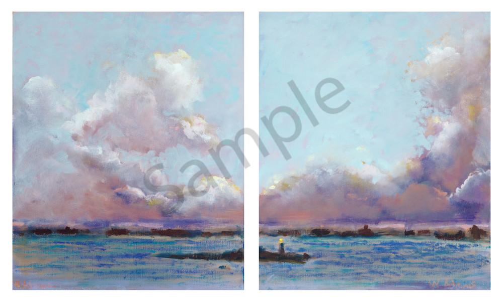 Clouds (Diptych) Art | Digital Arts Studio / Fine Art Marketplace