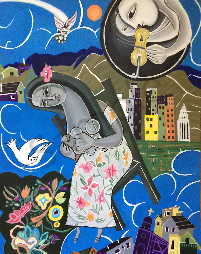 """""""Seated In Heavenly Places"""" by Humberto Rebollo 