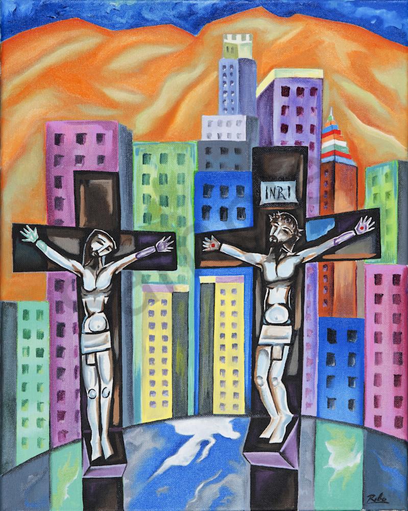 """The Crossroads"" by Humbeerto Rebollo | Prophetics Gallery"