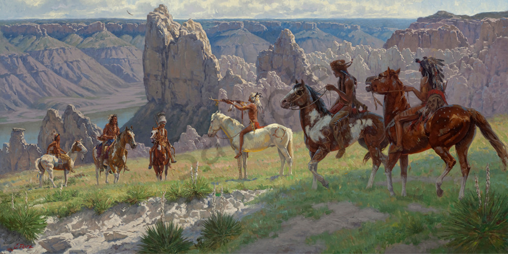 Honoring the Great River by Charles Fritz