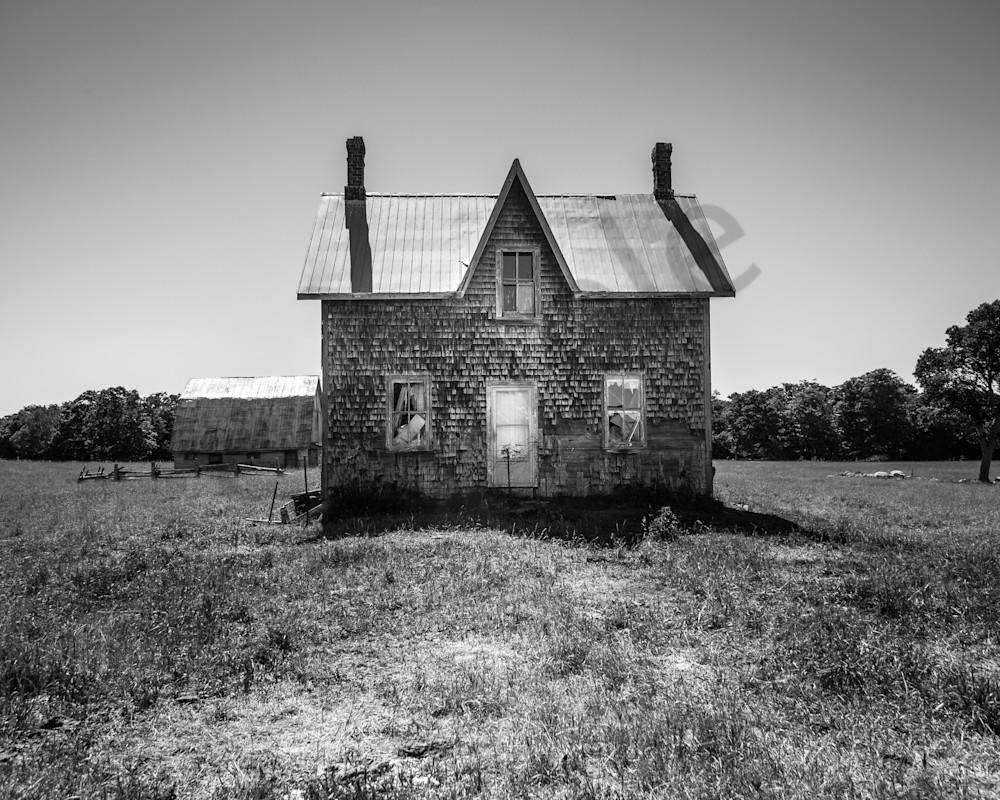 Abandoned Cedar House Photography Art | Sage & Balm Photography