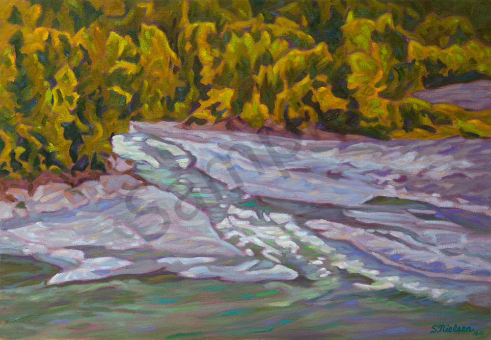 Meeting the Skeena - Sherry Nielsen - BC landscapes