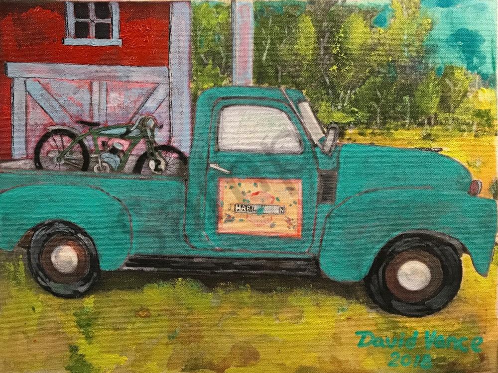 Behind The Barn Art   DavidPVance Prints