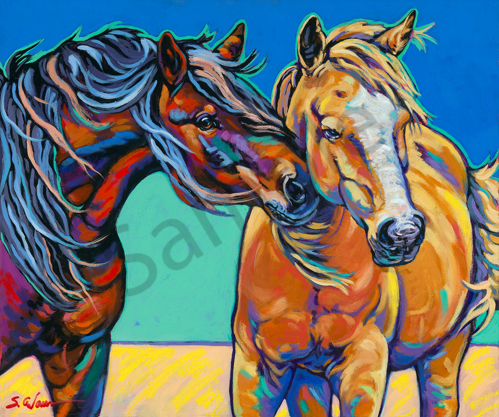 The Nudge  Art | Sally C. Evans Fine Art