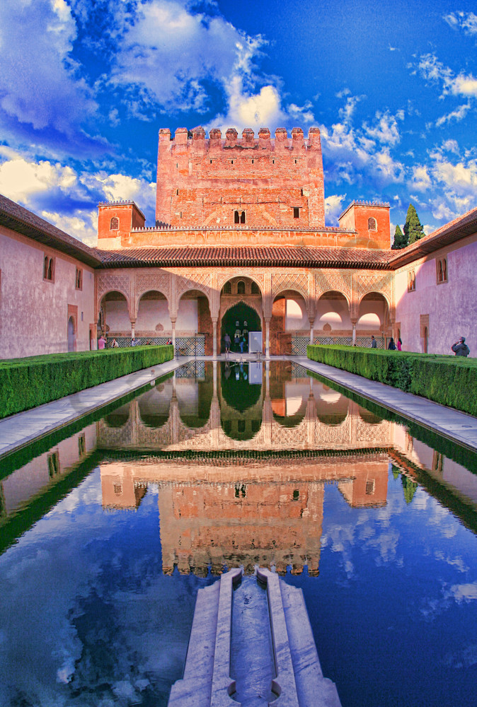 Pool Reflection Inside Alhambra|Fine Art Photography|This and That|Todd Breitling Art