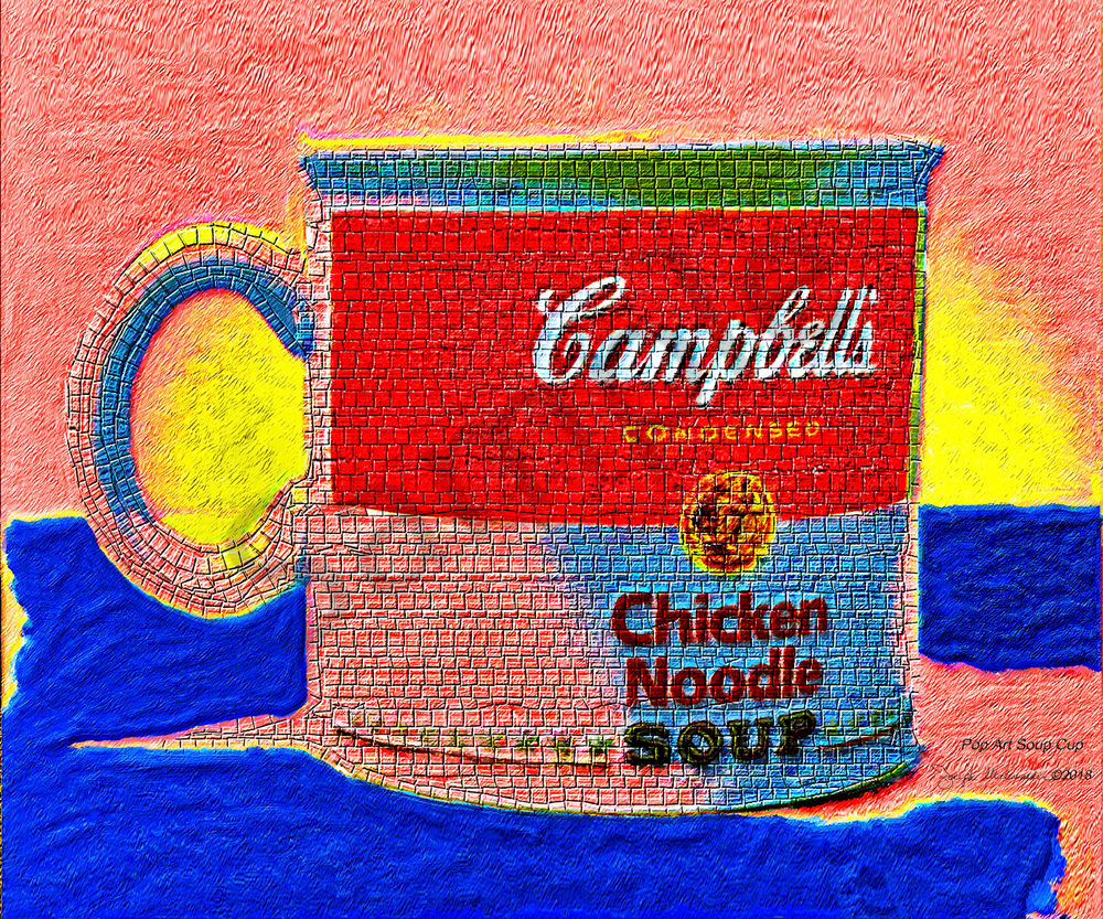 Pop Art Soup Cup - The Gallery Wrap Store