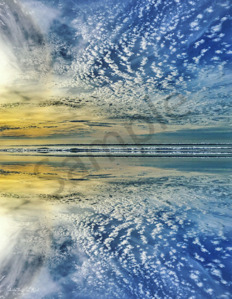"""From Sea to Sea..."" - digital painting photograph"