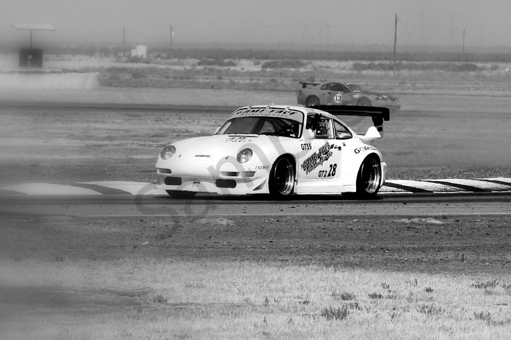 Buttonwillow Porsche Racing Art | ARTHOUSEarts