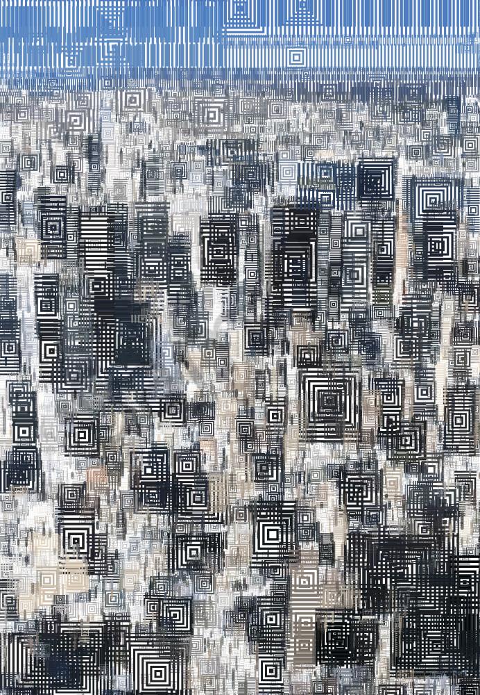 Manhattan art work, painting, City art, New York City Art, Peter McClard, Brilliance Gallery