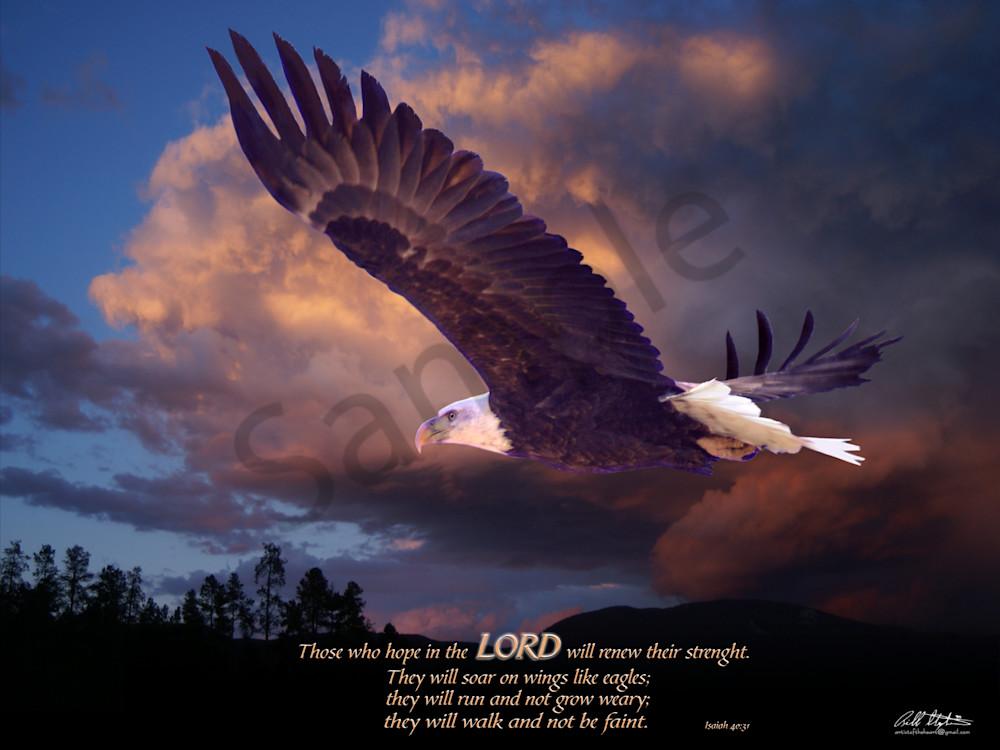 """Isaiah 40"" by Bill Stephens | Prophetics Gallery"