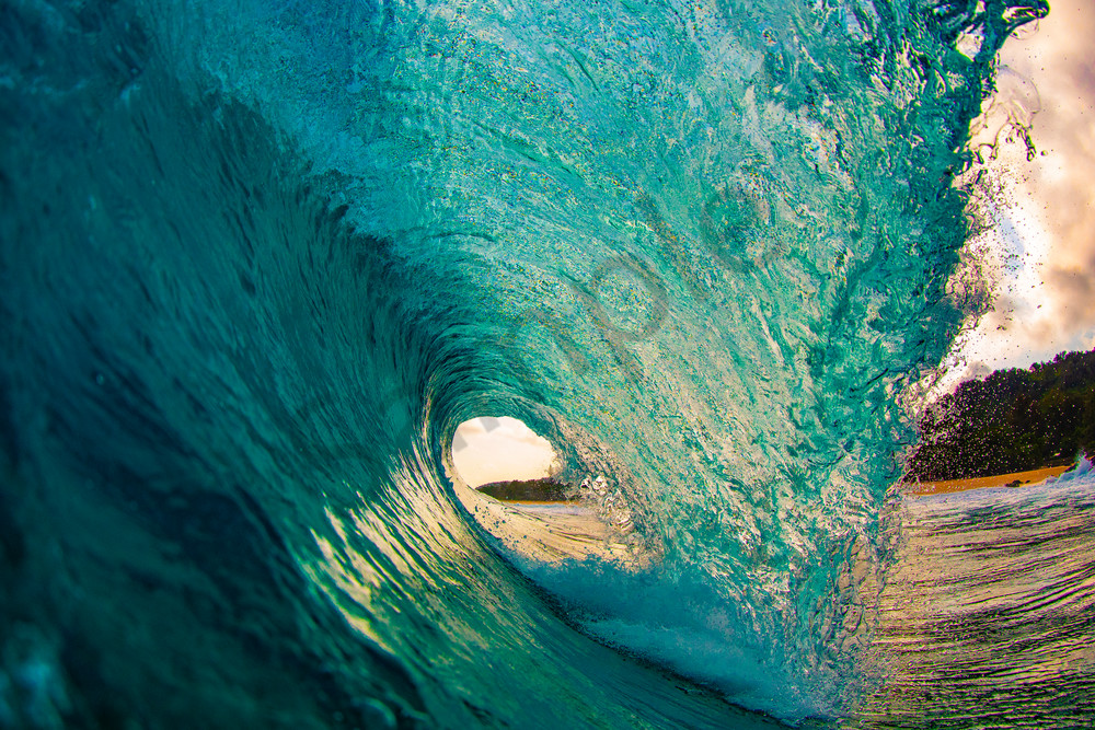 Wave and Surf Photography | Perfect Pitch by William Weaver