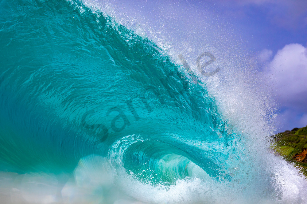Wave and Surf Photography | Sandy Beach by William Weaver