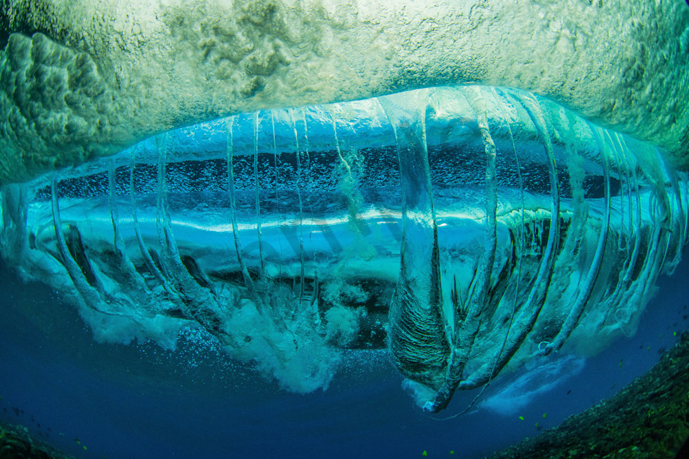 Wave and Surf Photography | Underwater Twister by William Weaver