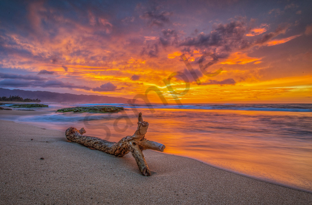 Sunset Photography | Heavenly North Shore Sunset by William Weaver