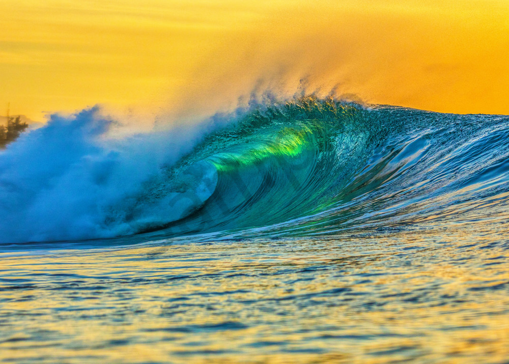 Wave and Surf Photography | Golden Hour by William Weaver