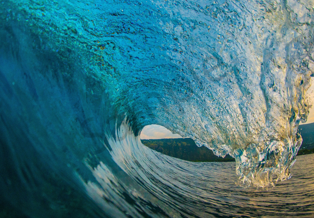 Wave and Surf Photography | Kona Pitch by William Weaver