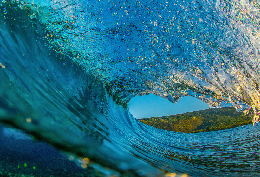 Wave and Surf Photography | Above and Below by William Weaver