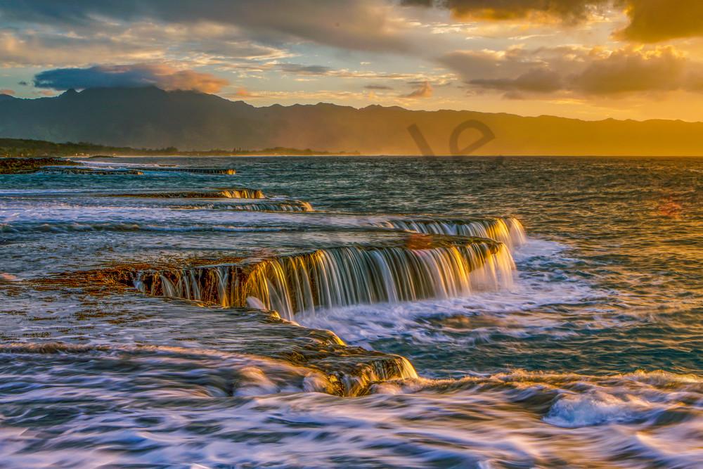 Ocean Photography | Ocean Falls by William Weaver